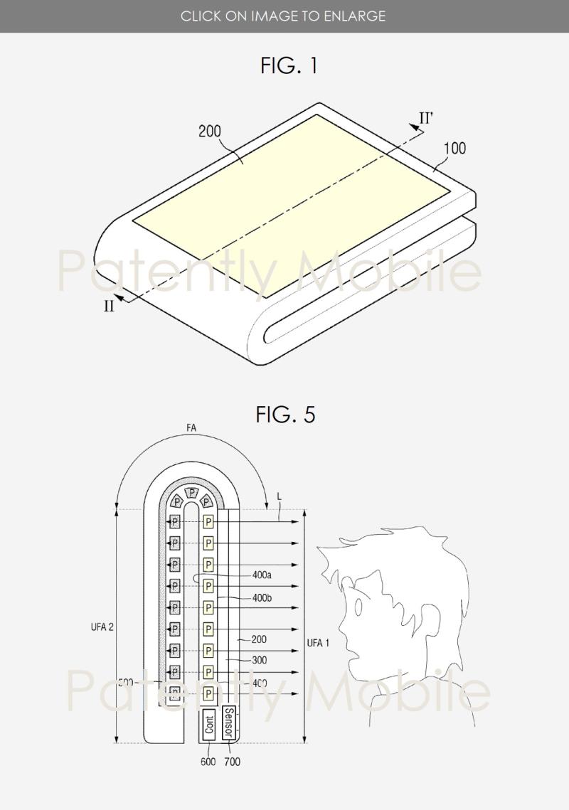 2 samsung flip phone patent