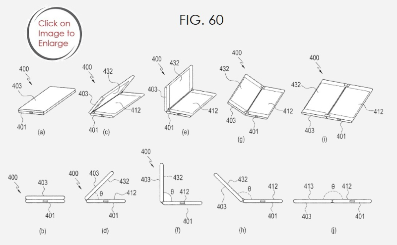 4 FIG. 60 SAMSUNG FOLDING DEVICE