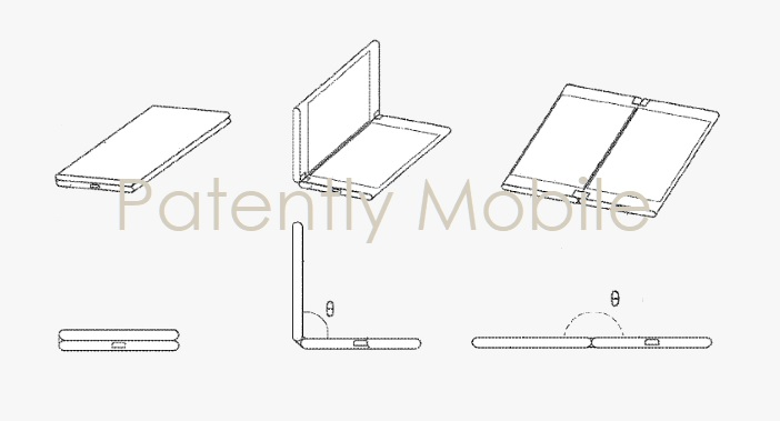 1 Cover - Samsung major foldable device patent