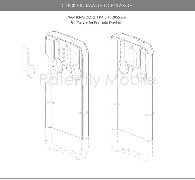 3 samsung phone cover with built in wireless bud case