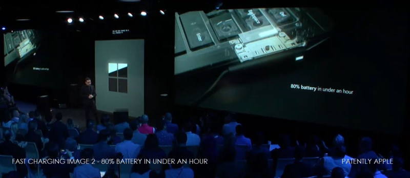 1 x4  Fast charging 3 on Surface pro 7