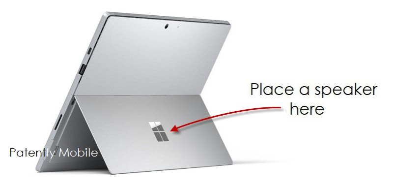 1 Cover Patently Mobile - Surface Pro with speaker