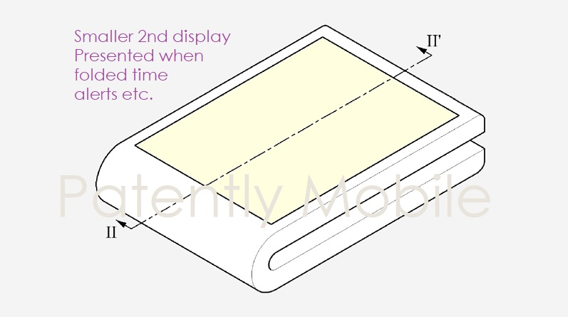 1 Cover Samsung flip phone patent figure