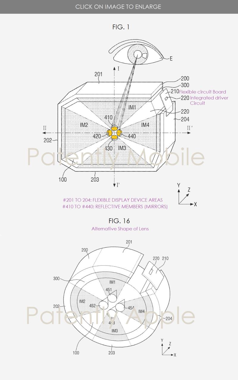 4 samsung patent figs 1 & 16