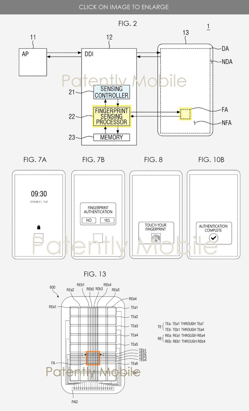 5 samsung fingerprint under display - ultrasonic